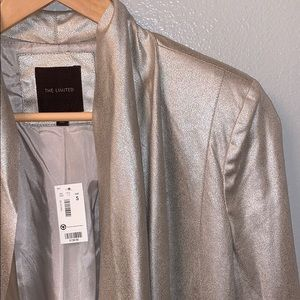 NWT Shimmer open jacket S